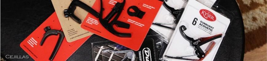 Cejillas de guitarra, capos de guitarra, Cejilla Dunlop, G7th,